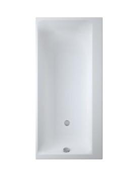 Obdélníková vana CERSANIT SMART 170x80 cm, - bílá, pravá