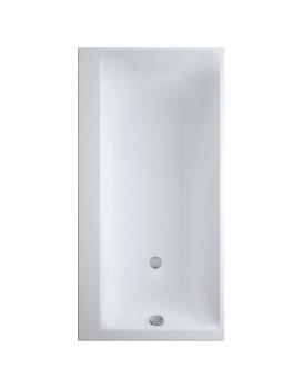 Obdélníková vana CERSANIT SMART 160x80 cm - bílá, levá