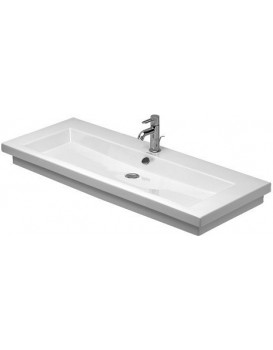 Keramické umyvadlo klasické DURAVIT 2ND FLOOR  120x50,5 cm bílé 04911200271