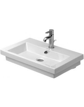 Keramické umyvadlo klasické DURAVIT 2ND FLOOR 60x43 cm bílé 04916000601