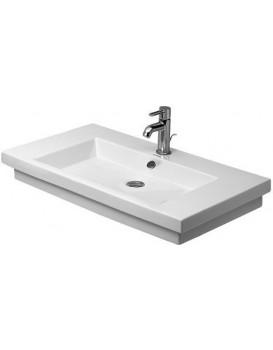 Keramické umyvadlo zápustné DURAVIT 2ND FLOOR  80x50 cm bílé 0491800000