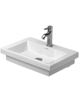 Keramické umyvadlo klasické DURAVIT 2ND FLOOR 50x40 cm bílé 0790500071