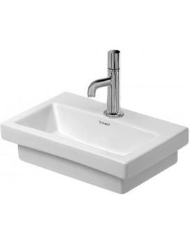 Keramické umyvadlo klasické DURAVIT 2ND FLOOR 50x40 cm bílé 0790500079