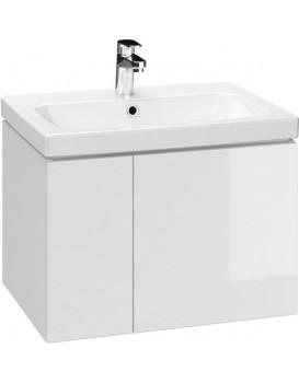 Umyvadlová skříňka CESANIT COLOUR - bílá