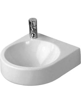 Keramické umyvadlo klasické DURAVIT ARCHITEC 36x38 cm otv. levý - bílé
