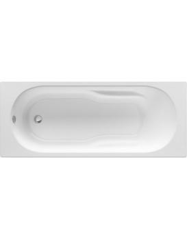 Obdélníková vana ROCA GENOVA N 160x70 cm bílá