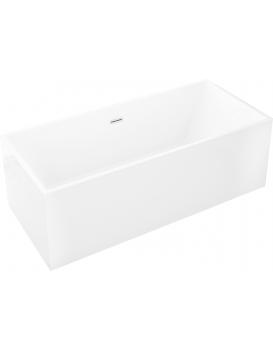 Volně stojící akrylátová vana MEXEN VIGO bílá 178,5 x 80 cm