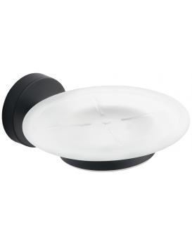 Miska na mýdlo MEXEN LOFT matná/černá