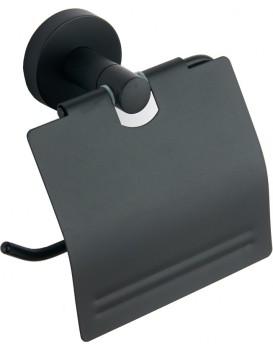 Držák na toaletní papír MEXEN Valve černý