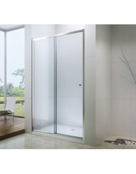 Sprchové dveře MEXEN Apia 115 cm - stříbrné