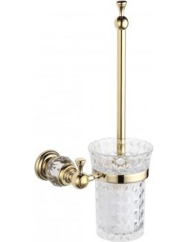 WC kartáč s nádobou MEXEN ESTELA zlatý
