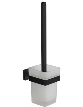 WC kartáč v nádobě MEXEN Asis černý