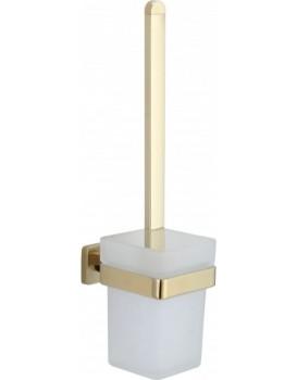 WC kartáč s nádobou MEXEN ASIS zlatý