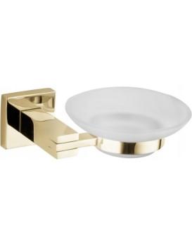 Miska na mýdlo MEXEN VANE zlatá
