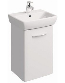Umyvadlová skříňka s umyvadlem KOŁO NOVA PRO  45 cm - bílý lesk