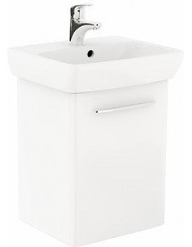 Umyvadlová skříňka s umyvadlem KOŁO NOVA PRO 50 CM - bílý lesk