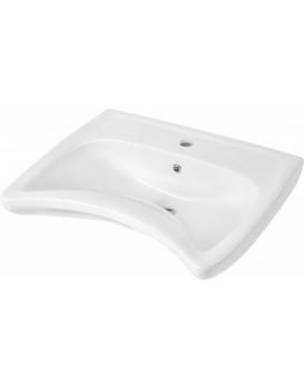 Keramické umyvadlo klasické DEANTE VITAL 60x49 cm bílé