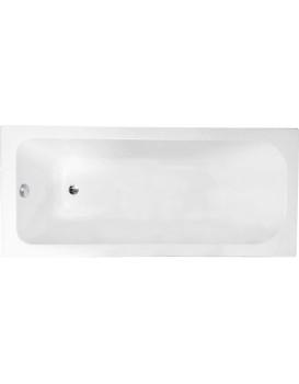 Akrylátová vana MEXEN VEGA bílá, 170x70 cm + automatická výpusť