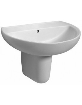Keramické umyvadlo klasické KOŁO REKORD 55x42 cm bílé K91055000