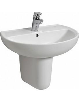 Keramické umyvadlo klasické KOŁO REKORD 55x42 cm bílé K91155000