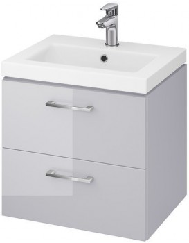 Umyvadlová skříňka s umyvadlem CERSANIT LARA Karen šedá