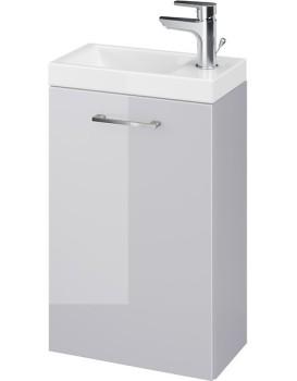 Umyvadlová skříňka s umyvadlem CERSANIT LARA Nela šedá