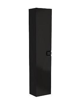 Koupelnová skříňka KOŁO TWINS 350 x 1800 x 275 mm - černá