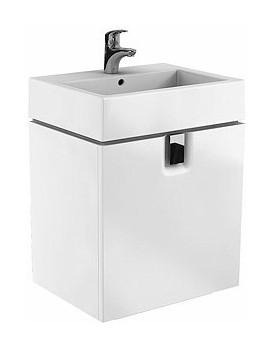 Umyvadlová skříňka KOŁO TWINS - bílá- šuplíky
