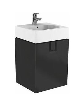 Umyvadlová skříňka černý mat KOŁO TWINS