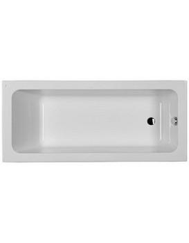 Obdélníková vana KOLO MODO 160x70 cm bílá - s povlakem AntiSlide