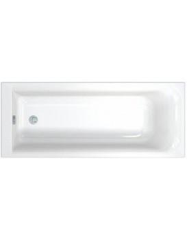 Obdélníková vana KOLO REKORD 160X70 cm s povlakem AntiSlide - bílá