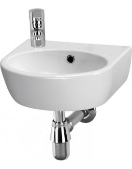 Keramické umyvadlo Cersanit PARVA levostranné 40x32 cm bílé