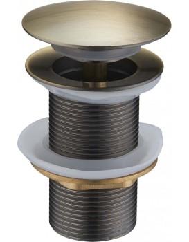 Výpusť click-clack bez přepadu Mexen 79910 bronz