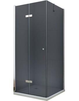 Sprchový kout Mexen Lima Grey 100x80 cm