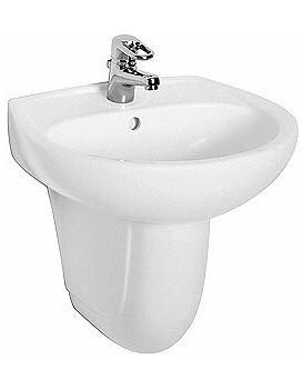 Keramické umyvadlo klasické KOŁO IDOL 60x45 cm bílé M11060000