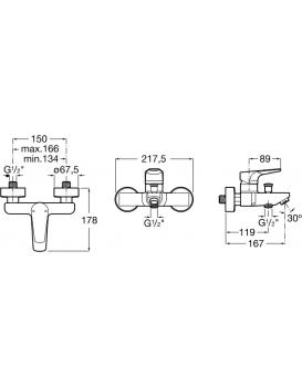Vanová baterie ROCA ATLAS -A5A0290C00