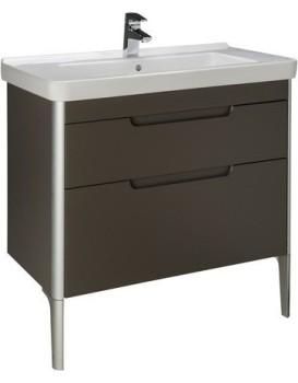 Umyvadlová skříňka s umyvadlem ROCA DAMA-N  85 cm - taupe