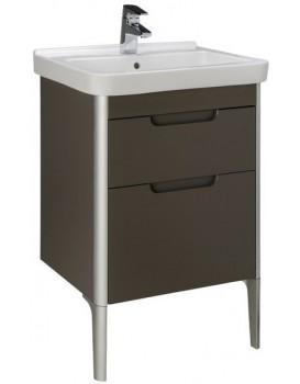 Umyvadlová skříňka s umyvadlem ROCA DAMA-N  taupe