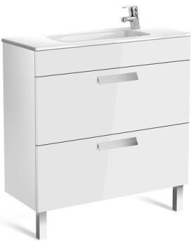 Umyvadlová skříňka s umyvadlem ROCA DEBBA  80 cm - bílý lesk