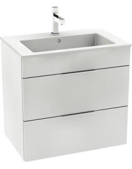 Umyvadlová skříňka s umyvadlem SUIT bílá