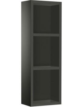 Koupelnová skříňka ROCA LUNA  - černá