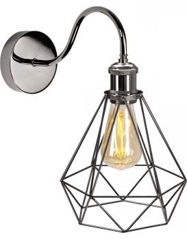 Nástěnná lampa Olava černá