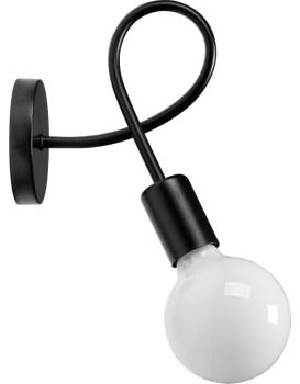 Nástěnná lampa Paradise černá