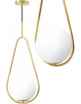 Stropní svítidlo STAGNO bílá/zlatá