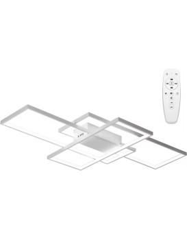 Stropní svítidlo LED Rectangle + ovladač bílé