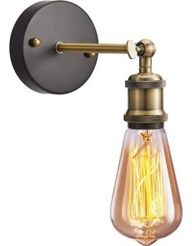 Nástěnná lampa Retro Gold APP618-1W