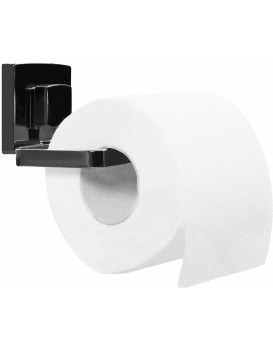 Držák na toaletní papír Rea VACUUM černý