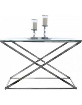 Konferenční stolek CT-18-02 skleněný 120 x 40