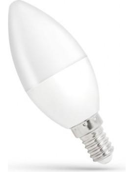 LED žárovka teplá E-14 230V 8W