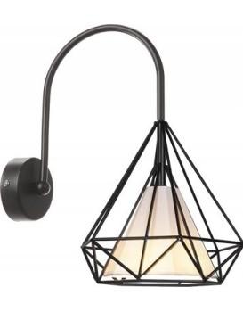 Nástěnná lampa KINKIET BELLO BLACK